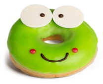 Пончик карамельный Лягушонок