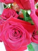 Роза в ассортименте красная