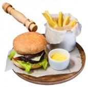 Бифбургер с Фри
