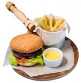 Гамбургер с Фри