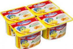 Йогурт Растишка Персик 3% 110г