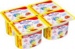 Йогурт Растишка Клубника 3% 110г
