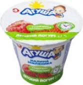 Йогурт Агуша Земляника-малина 2.7% 90г