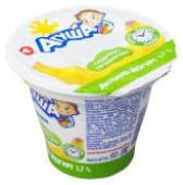 Йогурт Агуша Банан 2.7% 90г
