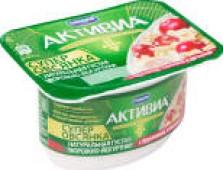 Биопродукт творожно-йогуртный Активиа Супер Овсянка с Брусникой и Клюквой 4% 130г