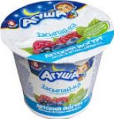 Йогурт Агуша Засыпай-ка Лесные ягоды-мелисса 2.7% 90г