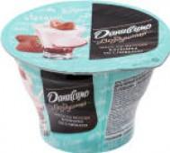 Мусс йогуртный Даниссимо Воздушный Клубника со сливками 5.6% 140мл