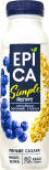 Йогурт питьевой Epica Simple с голубикой и овсяными хлопьями 1.2% 290г