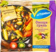 Смесь овощная Vитамин Овощи-гриль с итальянскими травами быстрозамороженная 400г