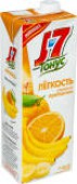 Нектар J-7 Тонус Легкость Апельсин банан с пребиотиком 1.45л
