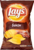 Чипсы Lays Бекон 150г