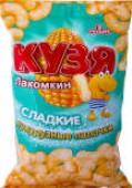 Палочки кукурузные Кузя Лакомкин Сладкие 140г