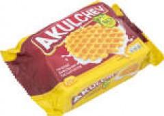 Печенье Акульчев вафельное сахарное 225г